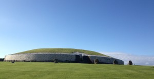 Newgrange temple mound